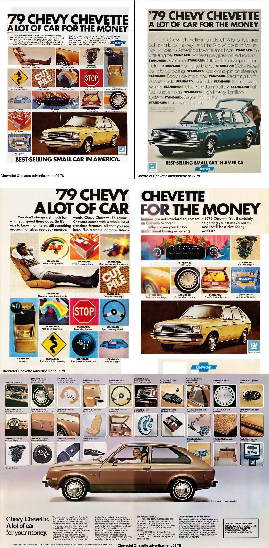 Vauxhall T Car aka Chevrolet Chevette North America brochures