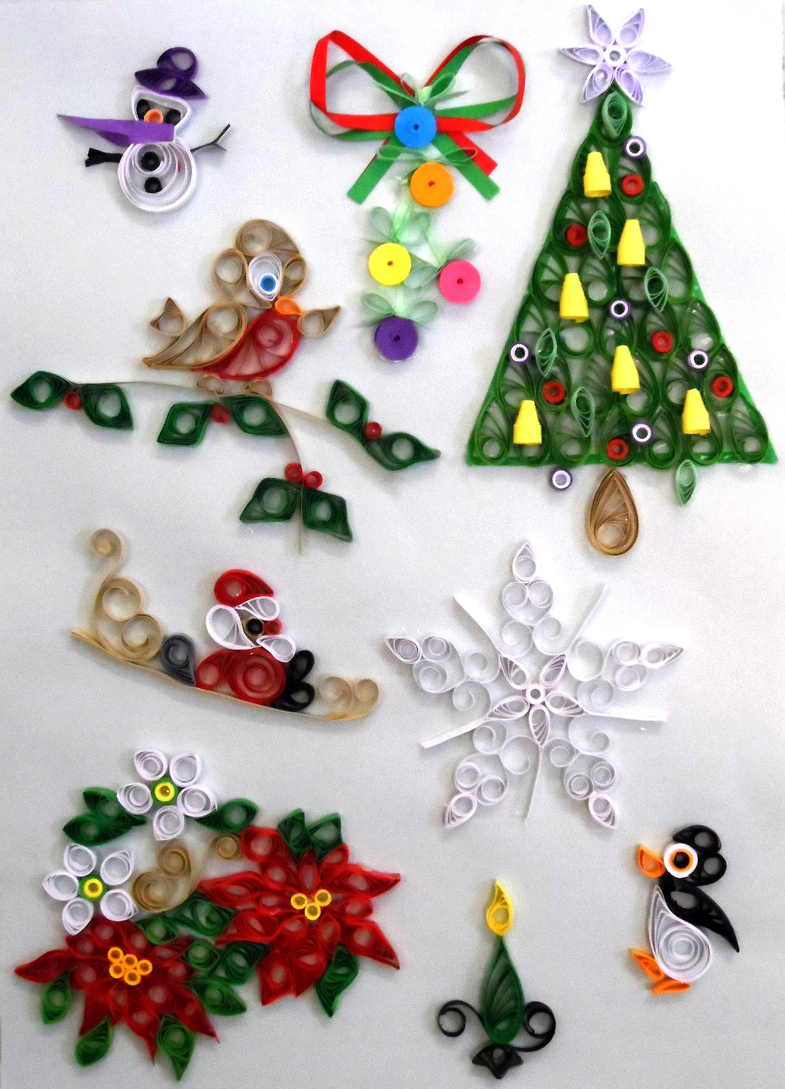 Quilling Kit - Designs at Christmas 1