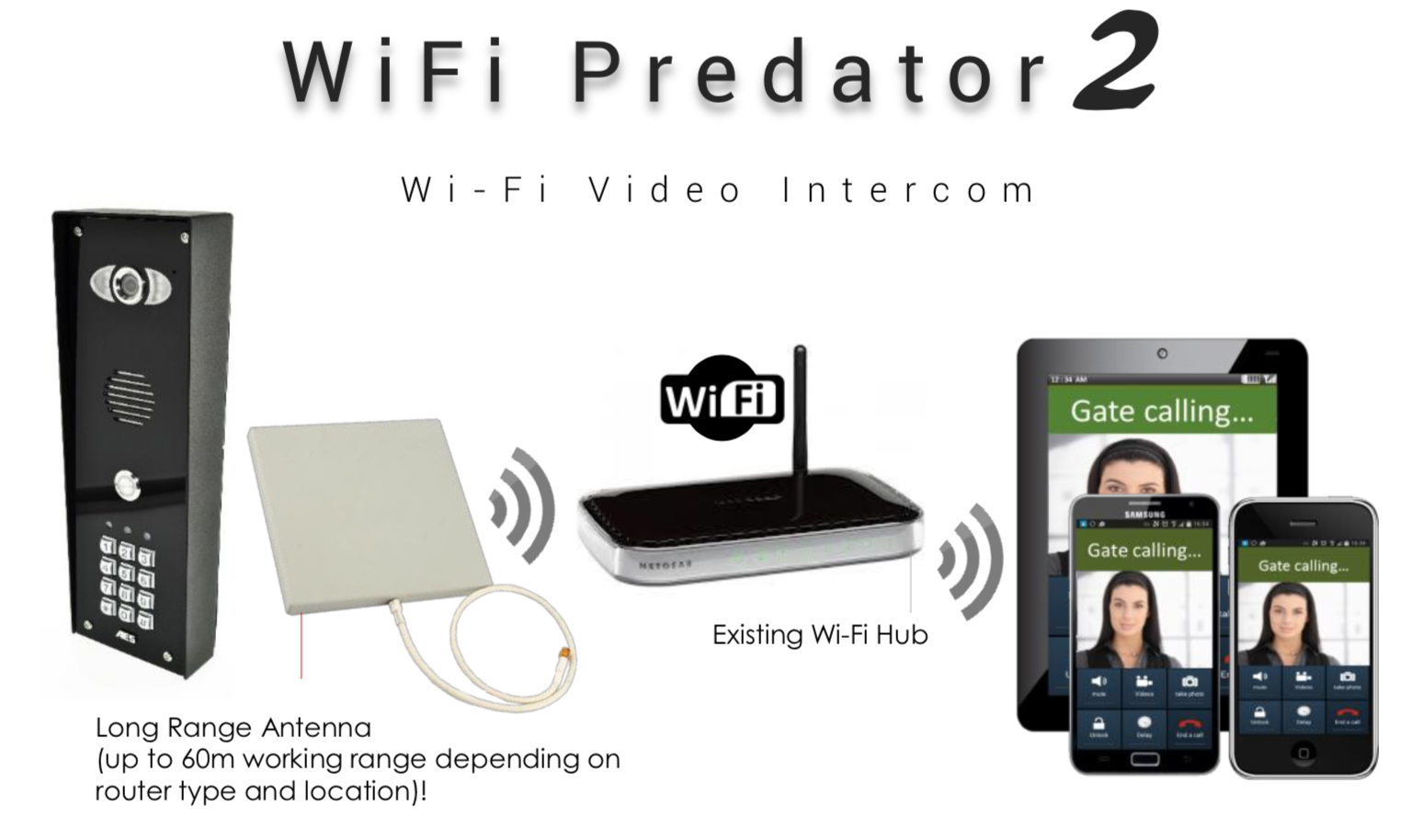 AES INTERCOM WIFI PREDATOR 2