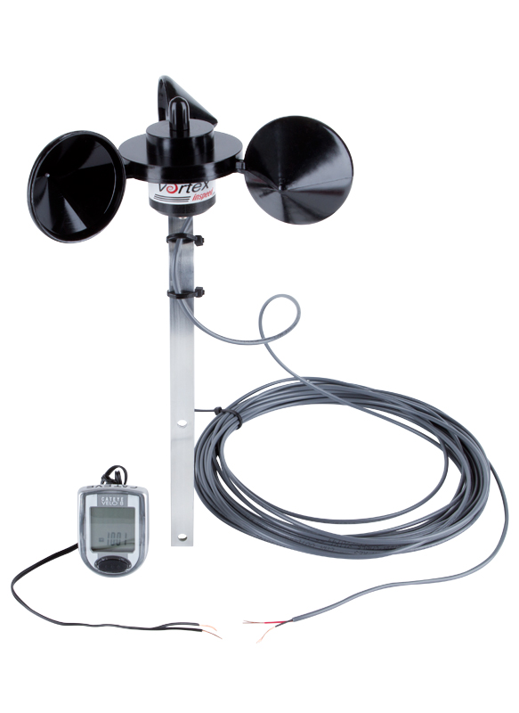 Inspeed Vortex Pole Mount Anemometer