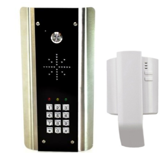 AES 302 ABK WIRED INTERCOM WITH KEYPAD