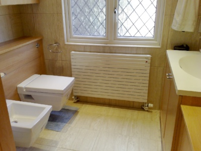 Refurbishment of clients bathroom following an escape of water.