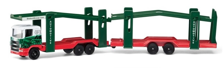 EDDIE STOBART CAR TRANSPORTER - 1:64 Scale Truck Die-cast Model Corgi TY86652