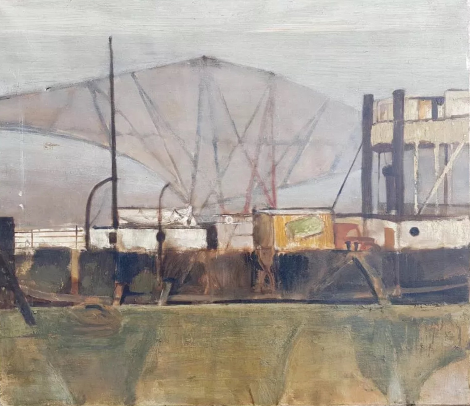Robert Henderson Blyth 'Fog on the Forth'