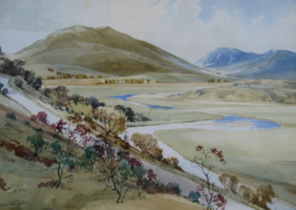 Alastair Dallas 'The Yarrow Valley'