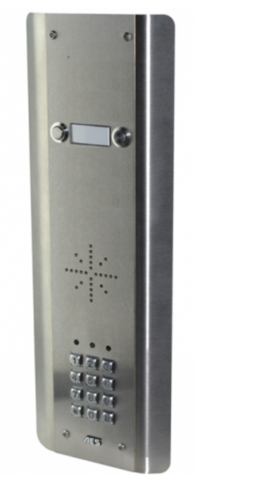 AES GSM-5ASK 2 Button PRIME Architectural Stainless with keypad