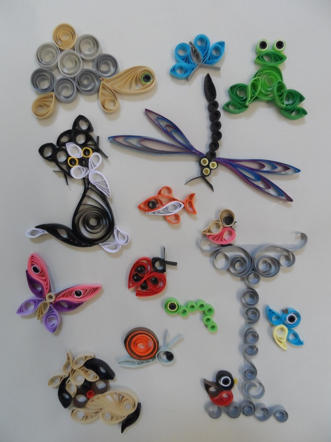Quilling Kit - Designs in the Garden