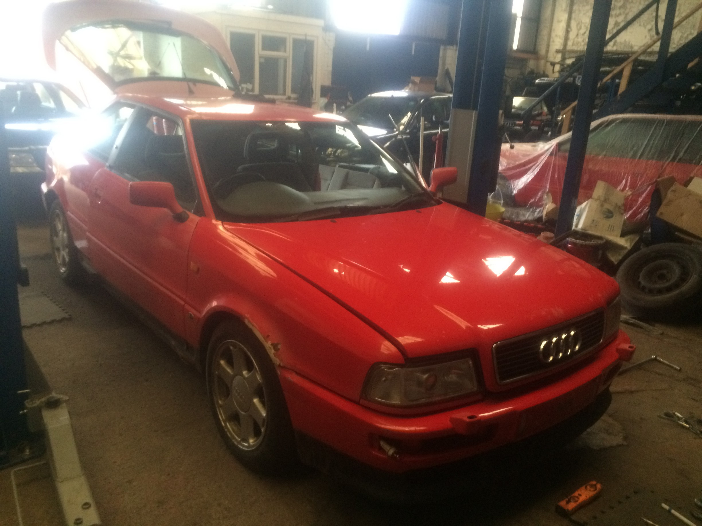 Audi S2 ABY coupe breaking for spares