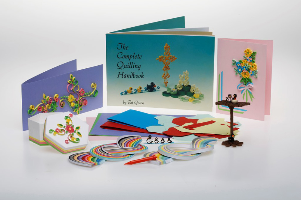 The Complete Beginners Quilling Workbox Kit