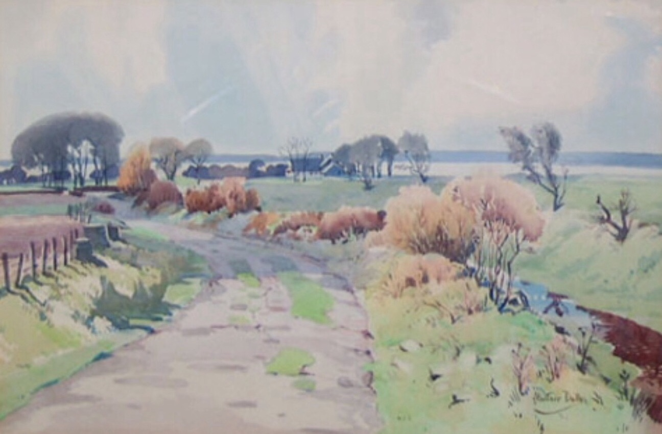 Alastair Dallas 'Near Kirkcudbright'
