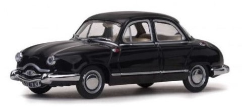 1954 PANHARD DYNA Z1 LUXE SPECIAL in Black - 1:43 Scale Car Die-cast Model Vitesse 23592