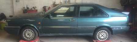 Audi B2 coupe quattro for restoration, why not use it?