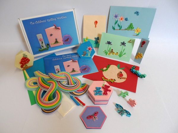 The Childrens Quilling Workbox Kit