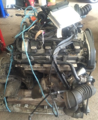 Audi A4 B5 1.8 Turbo AJL engine and gearbox