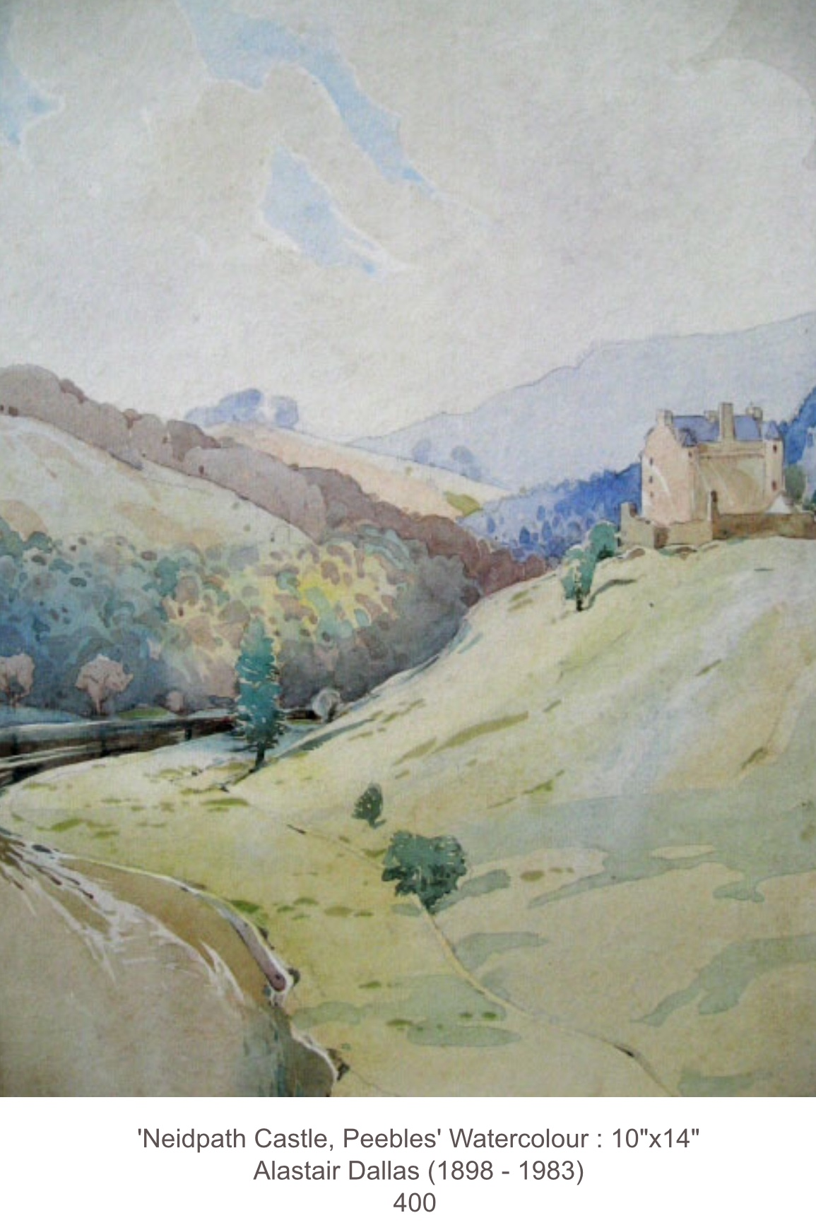 Alastair Dallas 'Neidpath Castle, Peebles'