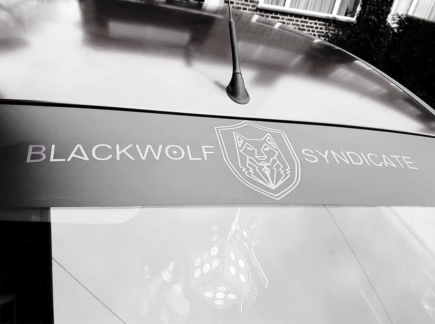 Black Wolf Syndicate Classic Sunstrip - CUT OUT Variant