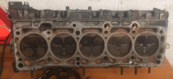 Audi 20vt I5 ABY ADU 3B cylinder head complete
