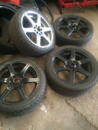 "Audi 4x108 17 "" wheels multi fit"