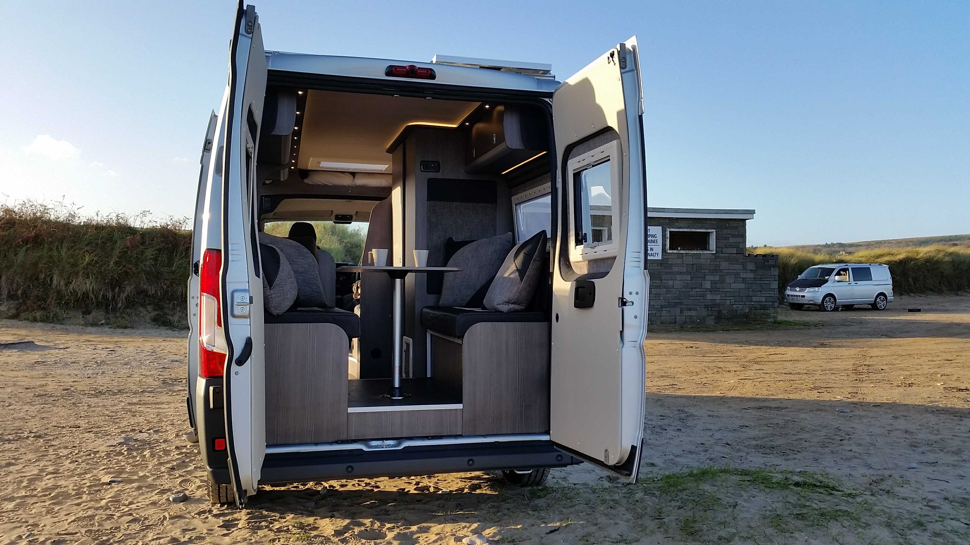 We Would Like To Present The Prototype For Our New Ducato Boxer LWB Conversion