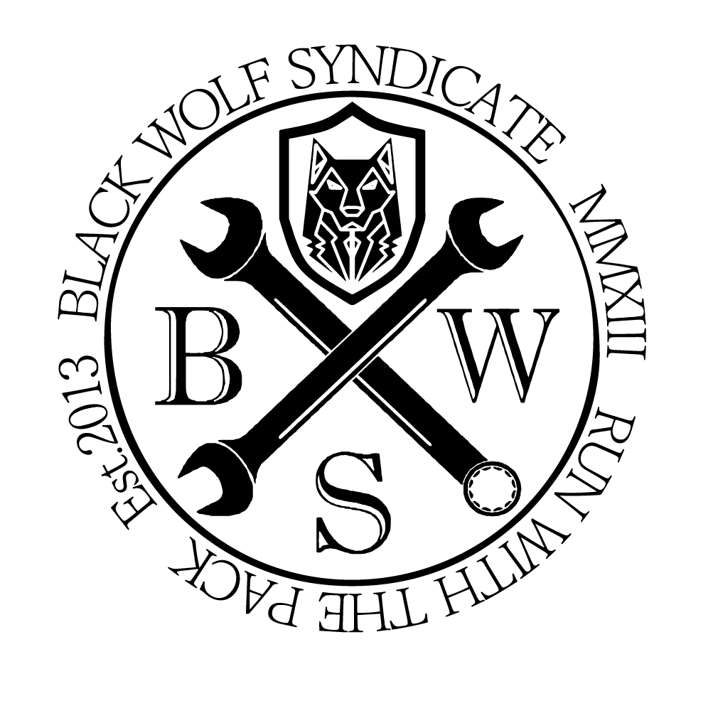 Black Wolf Syndicate Spanners Logo