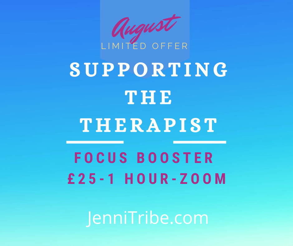 August Offer-Support the Therapist