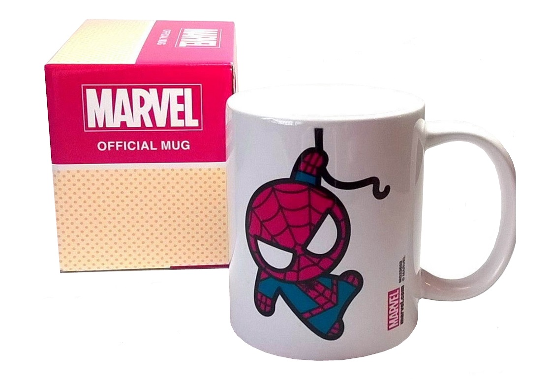 SPIDERMAN KAWAII MUG - Official Marvel Superhero Mug