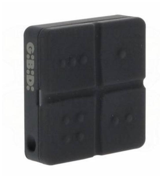 AU0400  2 x Domino Transmitter Gibidi Remote 4 Button