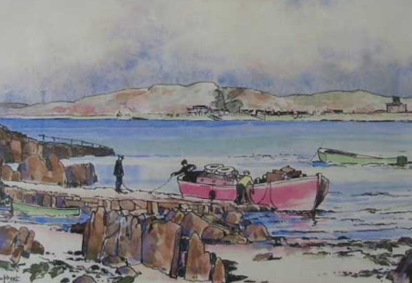 'The Iona Ferry' Alastair Dallas