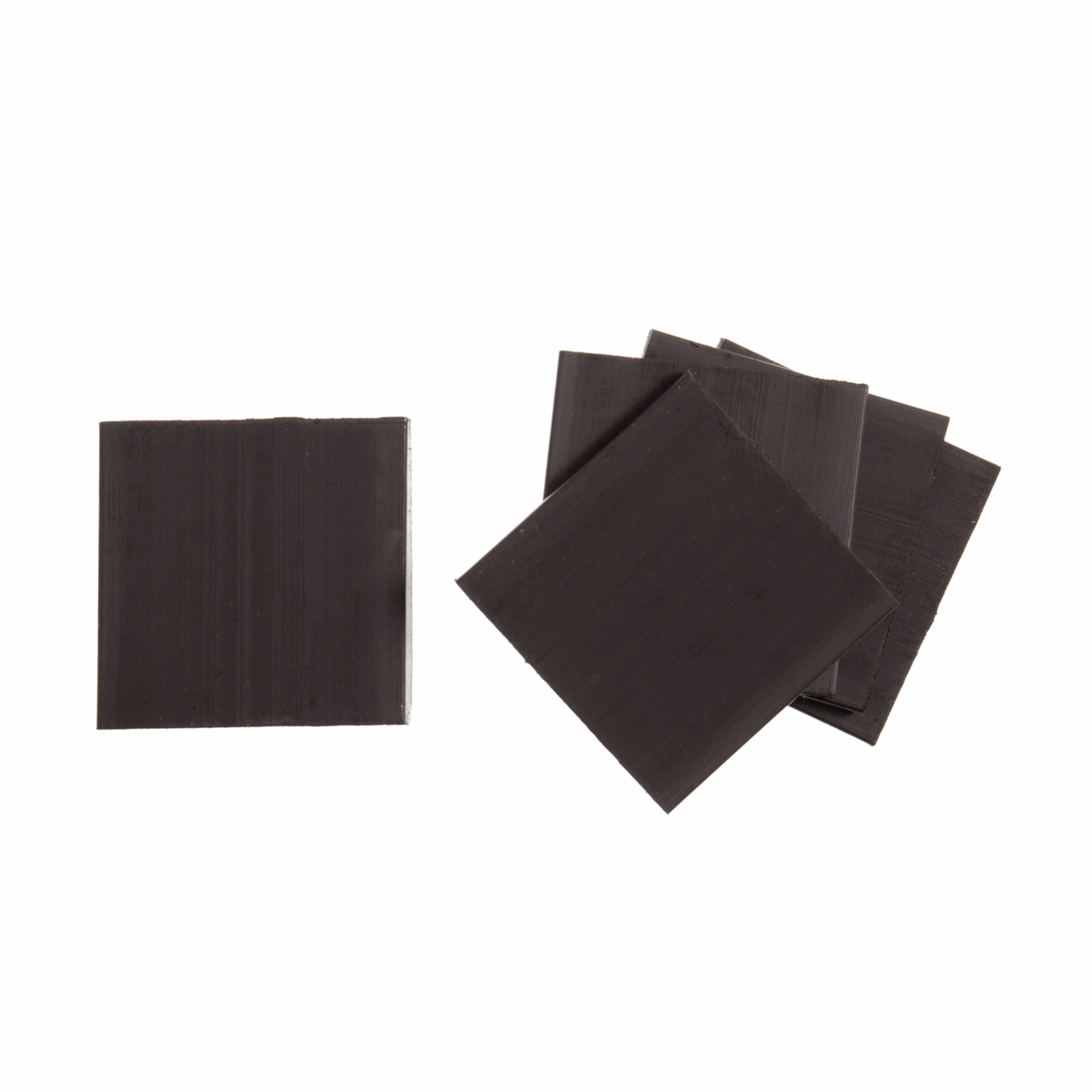 Magnets: Self-Adhesive: Square: 25 x 25mm: pack of 5
