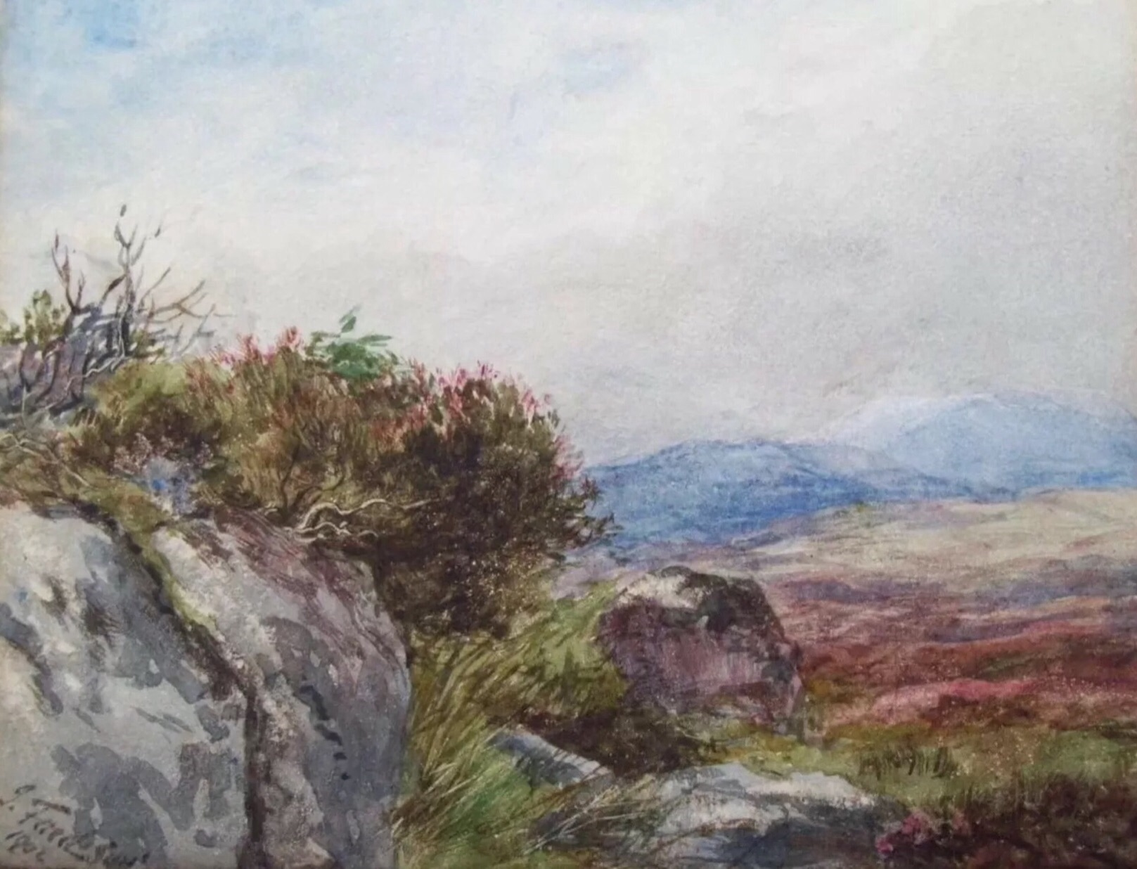 'Galloway Moor' James Faed Jr.