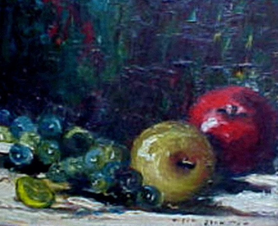 Helen Johnston 'Still life with Fruit'