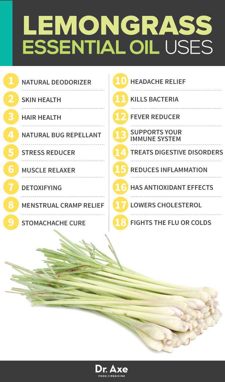 10ml Lemon Grass Essential Oil