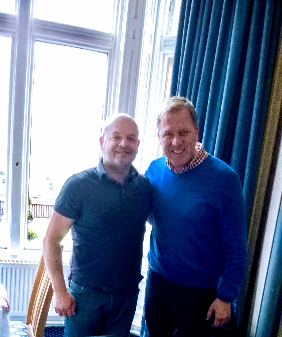 Tommy with Medium Tony Stockwell