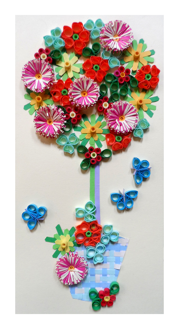 Quilling Kit - Quill a Summer Bay Tree