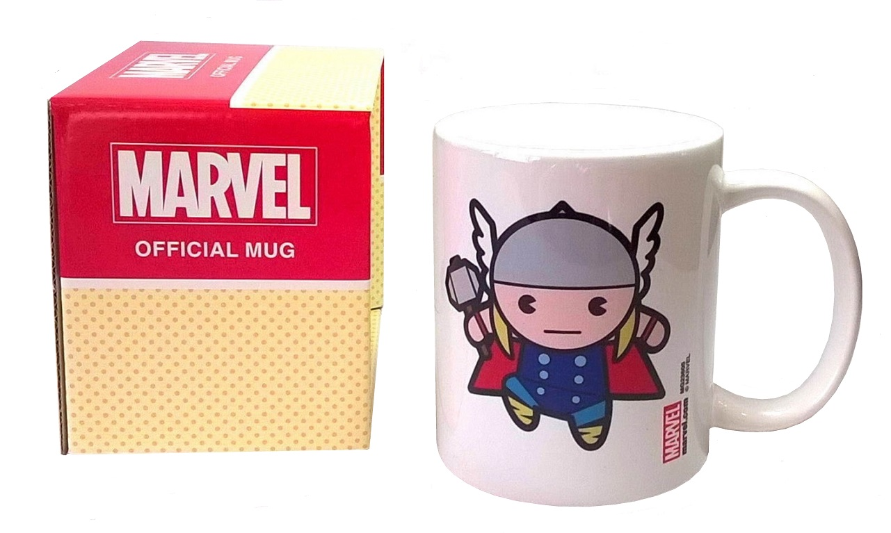 THOR KAWAII MUG - Official Marvel Superhero Mug