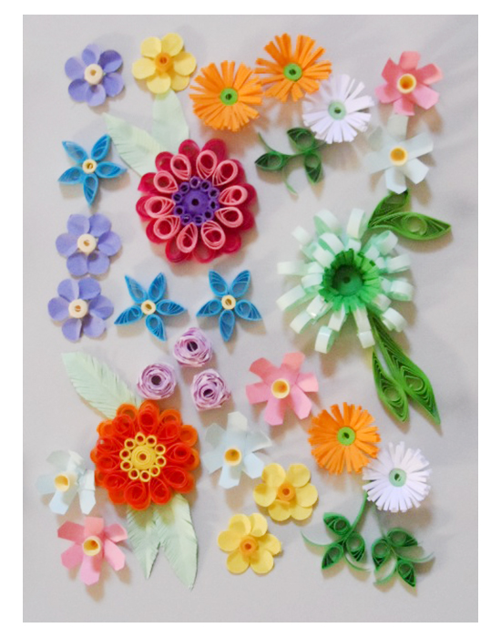 Quilling Kit - Floral Quilling Designs For Spring