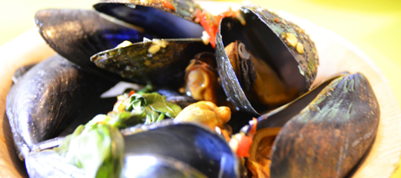 Mussels at Supha's