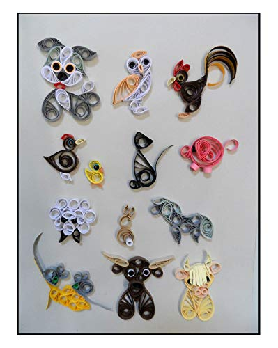 Quilling Kit - Designs on the Farm