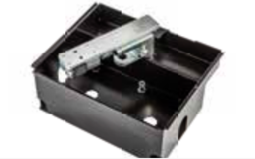 AJ49300 Gibidi Ground foundation box with motor arm with lid and lock 3 keys for 624, 610