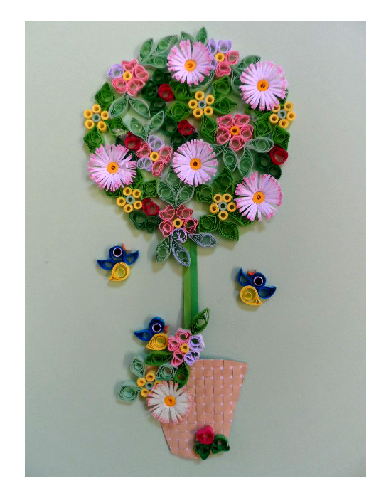 Quilling Kit - Quill a Spring Bay Tree