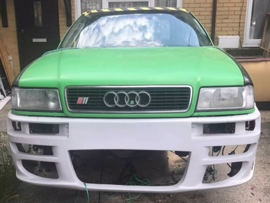 Audi S2 3B coupe quattro caged shell