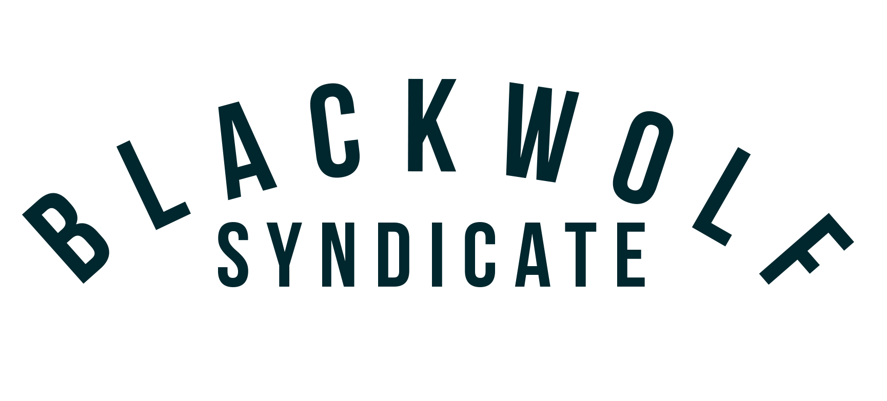 Black Wolf Syndicate Arched Logo