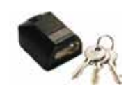 Gibidi 1 x Top Lock With 3 Keys AU000490