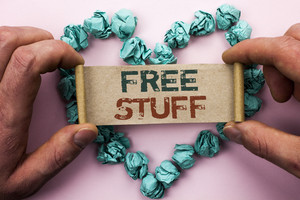 What makes you happy – Free stuff