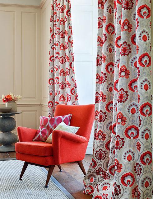 Jane Churchill Orissa fabric