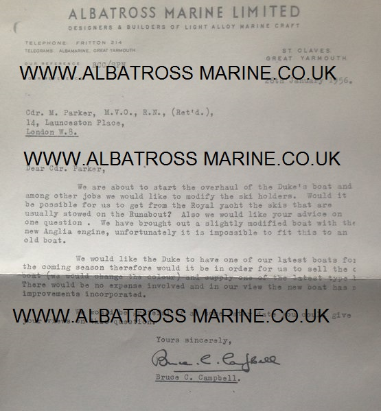 albatross boat dates