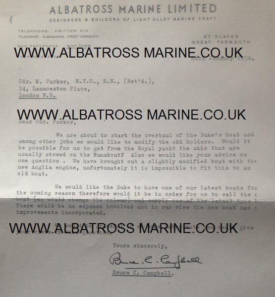 albatross boat dates