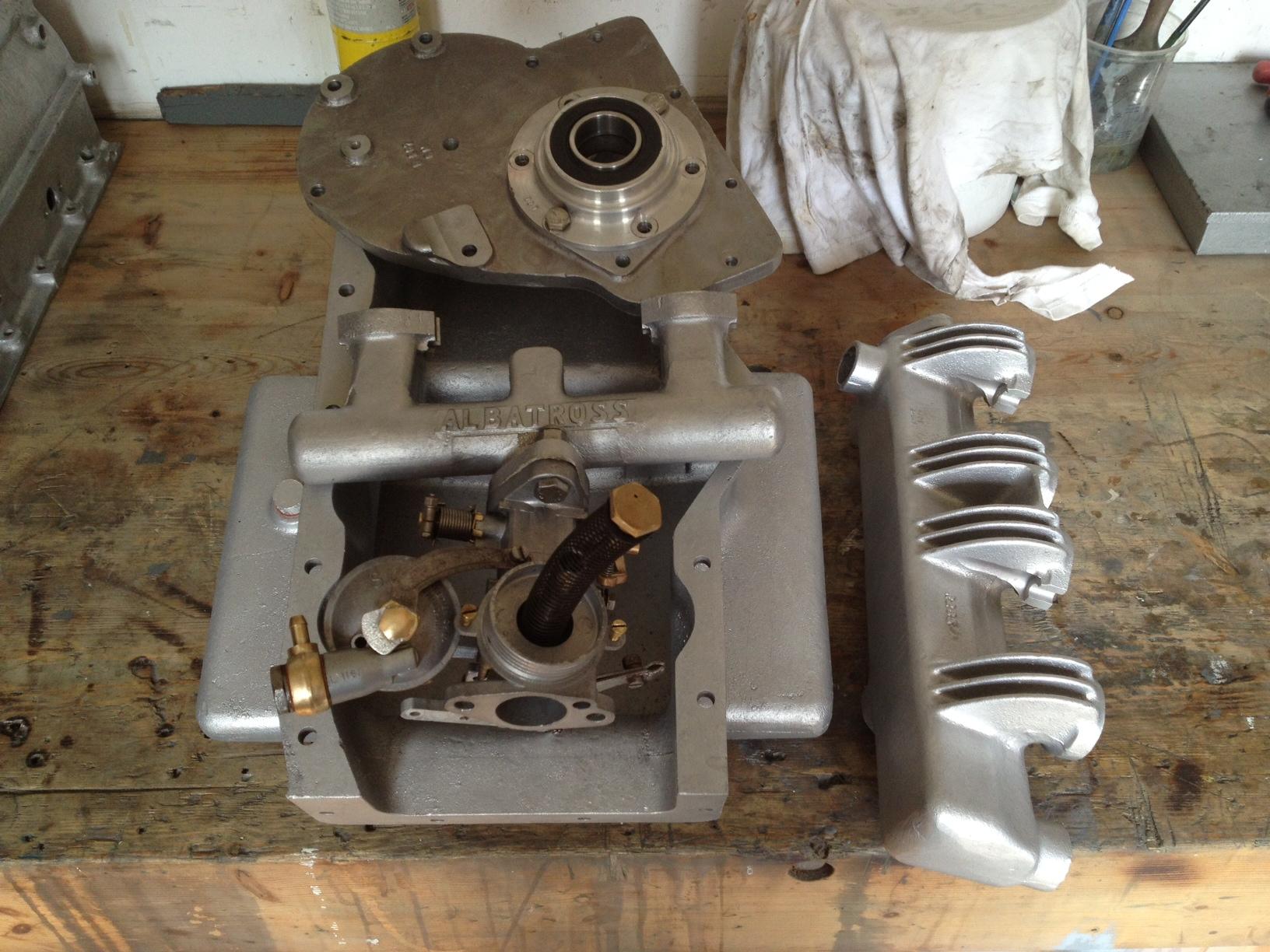 albatross 100e engine castings