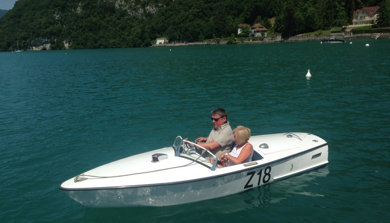 Simon and Julie at Annecy