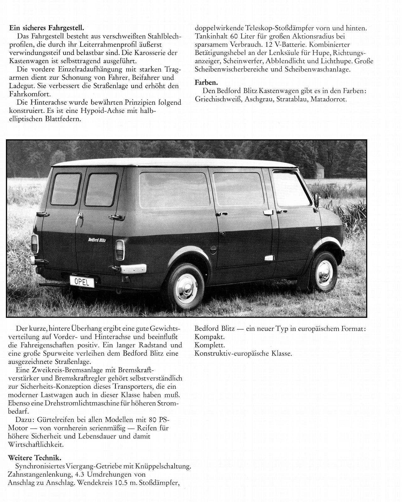 Bedford 97000 - CF brochures export